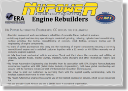 Nu Power Automotive Engineering CC